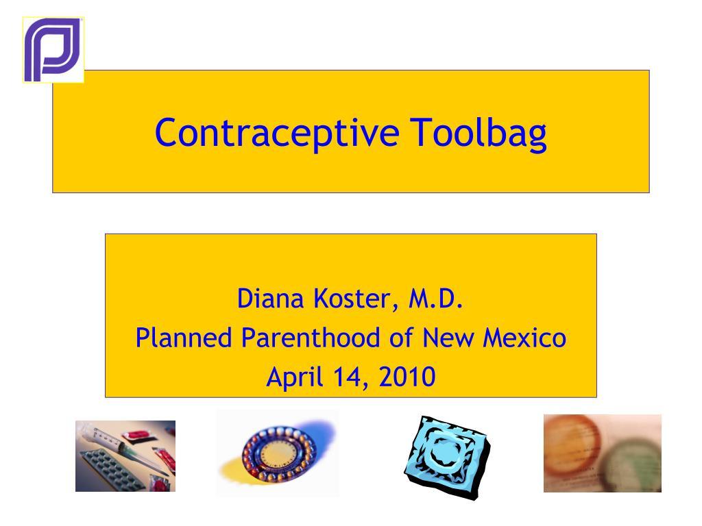 contraceptive toolbag l.