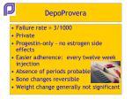 depoprovera