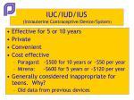 iuc iud ius intrauterine contraceptive device system