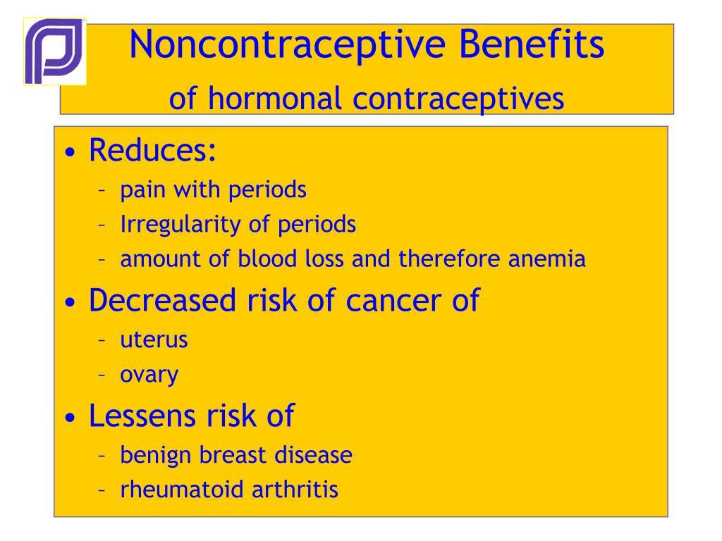 Noncontraceptive Benefits