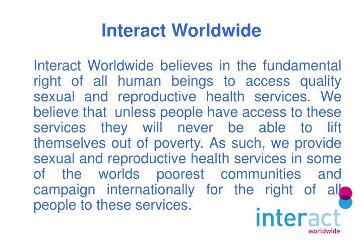 Interact worldwide