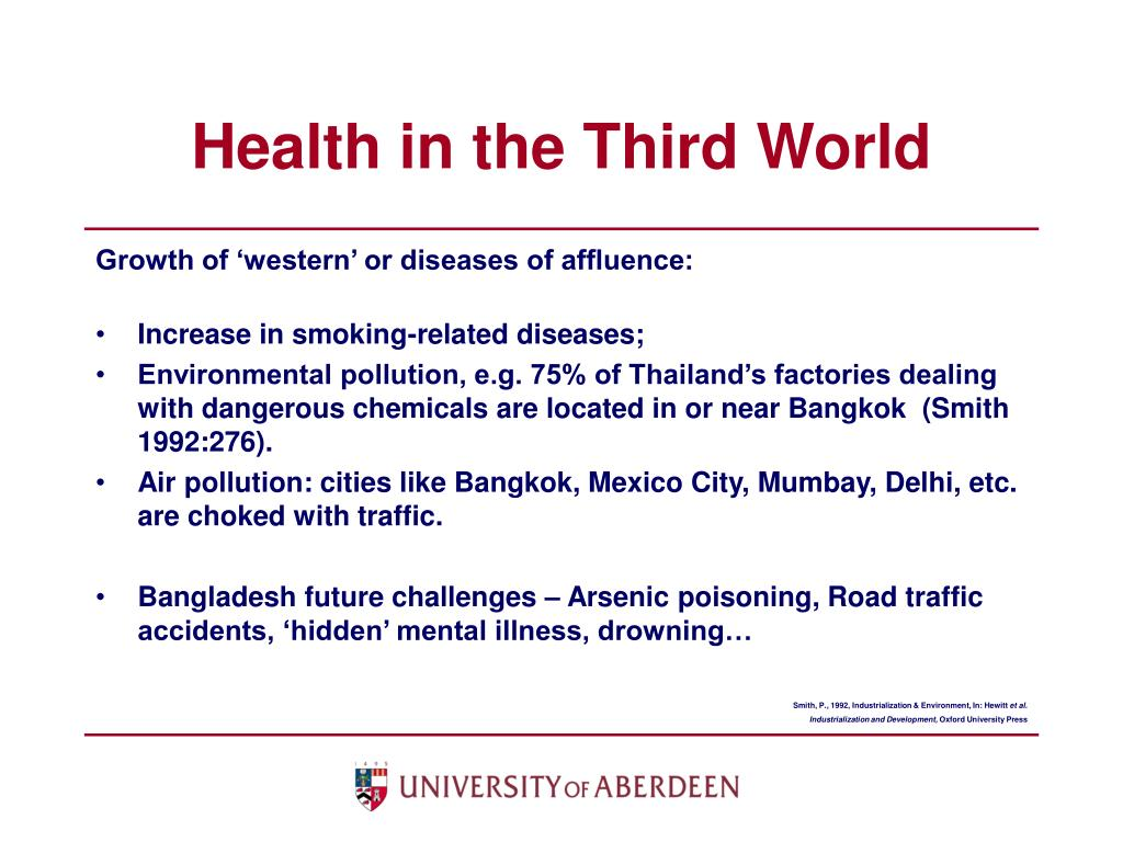 Health in the Third World