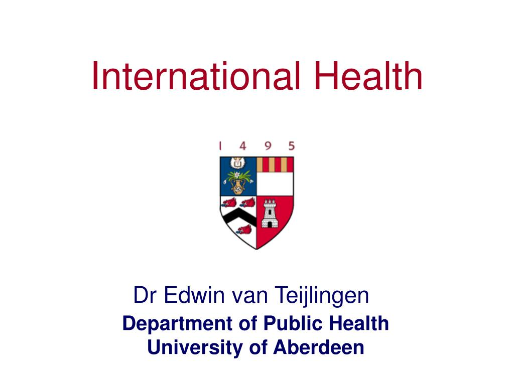 international health l.