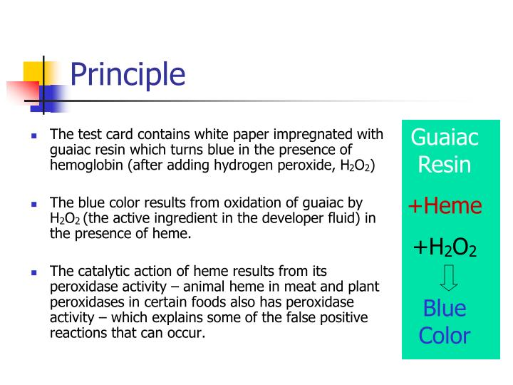 fecal occult blood test instructions
