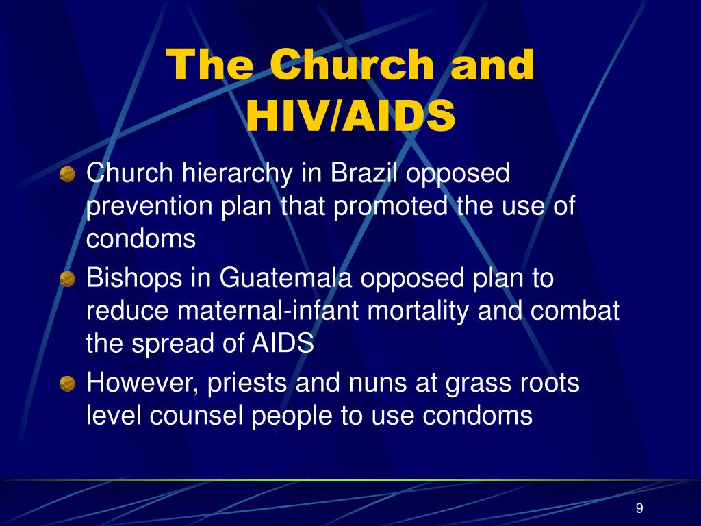 The Church and HIV/AIDS
