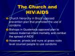 the church and hiv aids