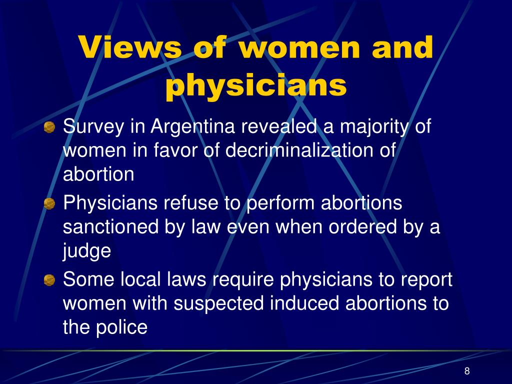 Views of women and physicians