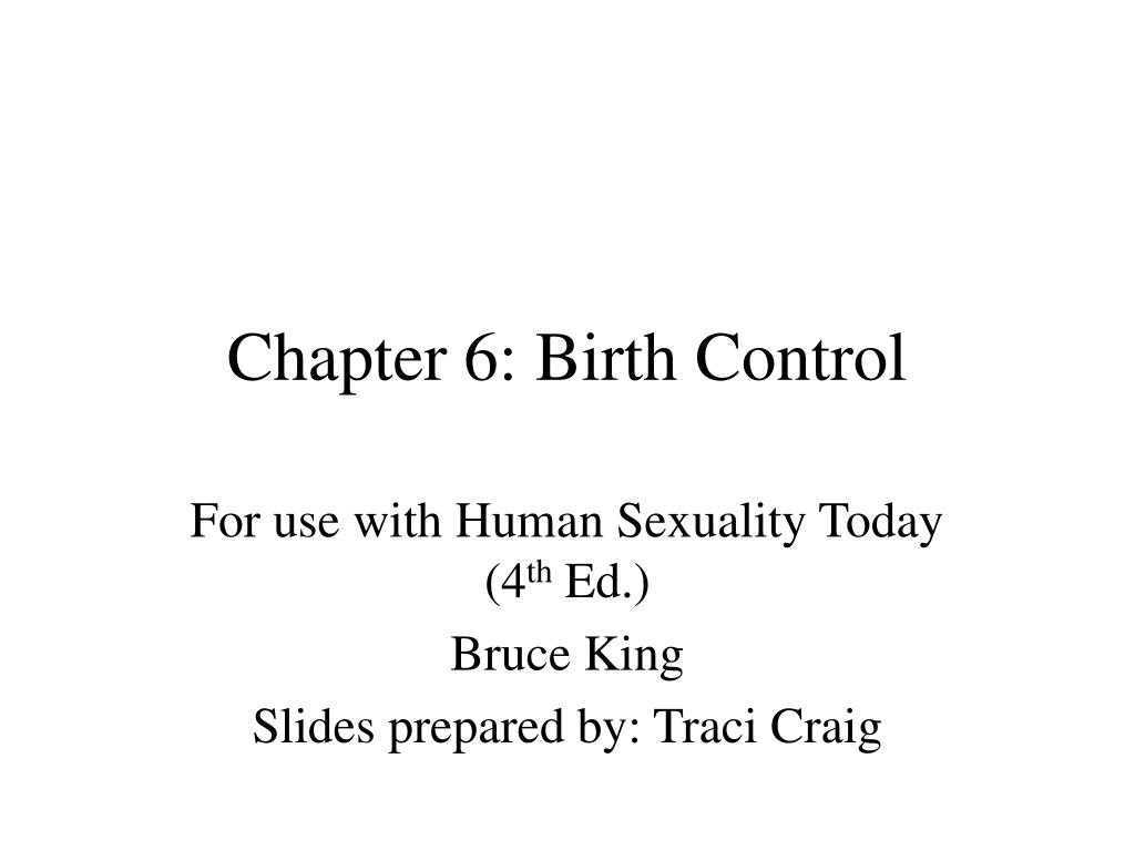 Chapter 6: Birth Control