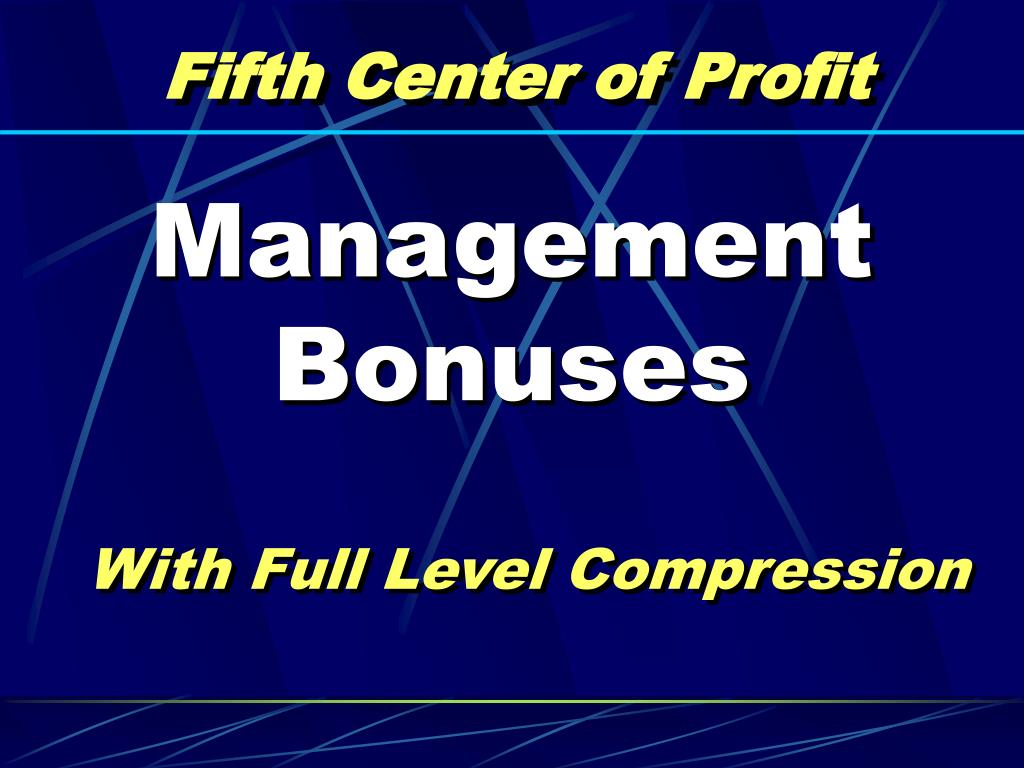 Fifth Center of Profit