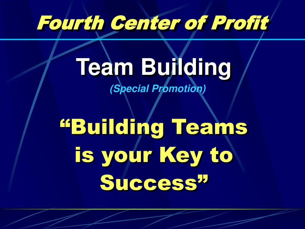 Fourth Center of Profit