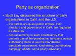 party as organization6