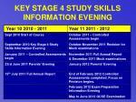 key stage 4 study skills information evening32