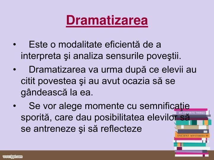 Dramatizarea