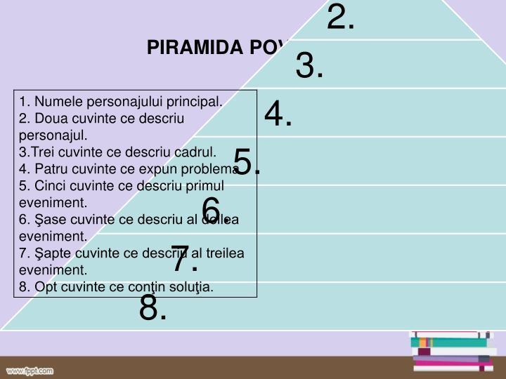 PIRAMIDA POVESTIRII