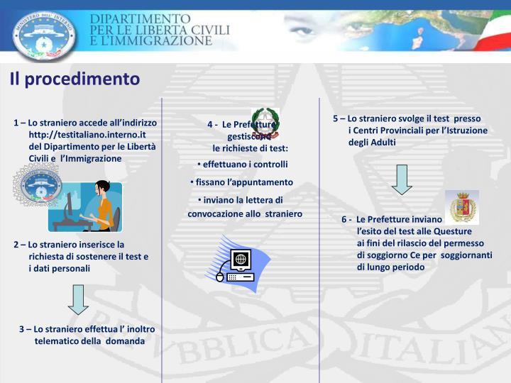 Emejing Test Italiano Per Carta Di Soggiorno Photos - House Design ...