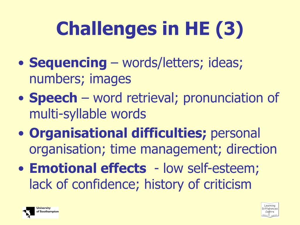 Challenges in HE (3)