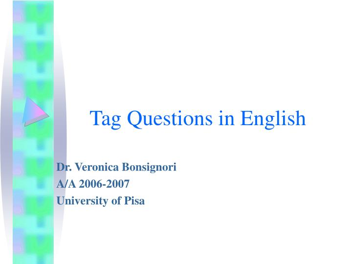 tag questions in english n.