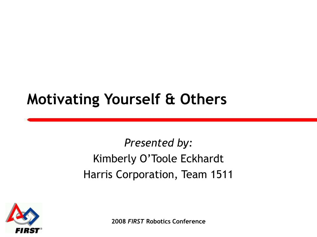 motivating yourself others l.