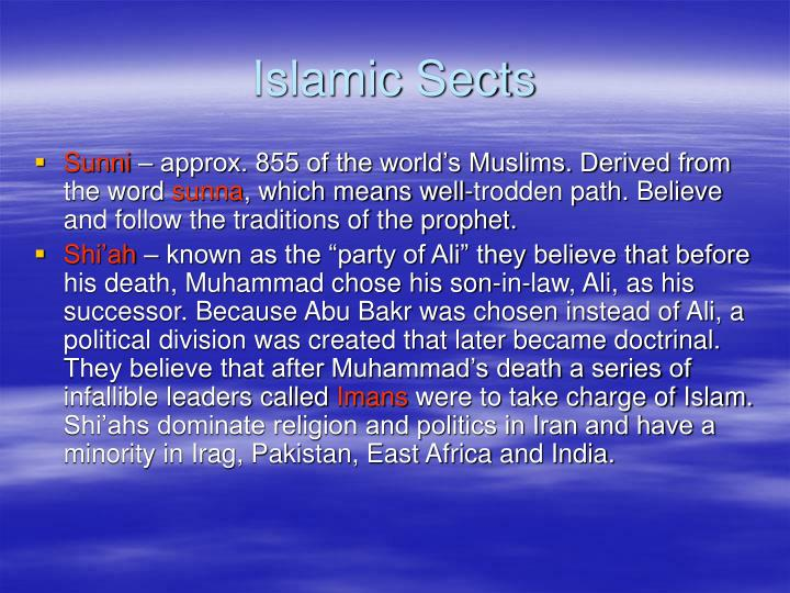 Islamic Sects