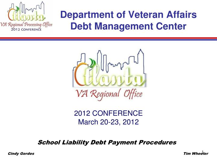 department of veteran affairs debt management center n.