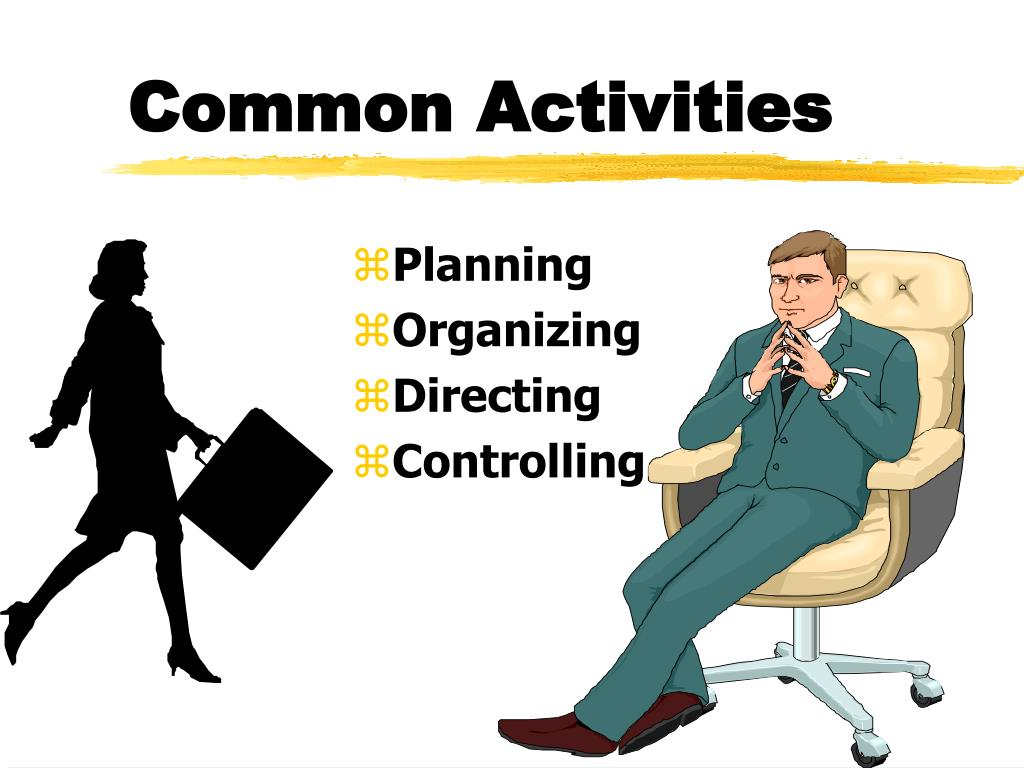 Common Activities