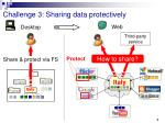 challenge 3 sharing data protectively