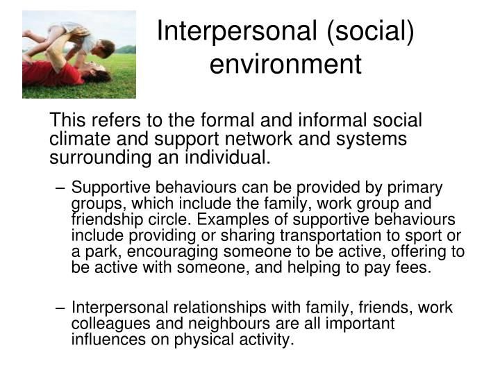 Ppt Teaching Social Ecological Models Of Physical Activity Where