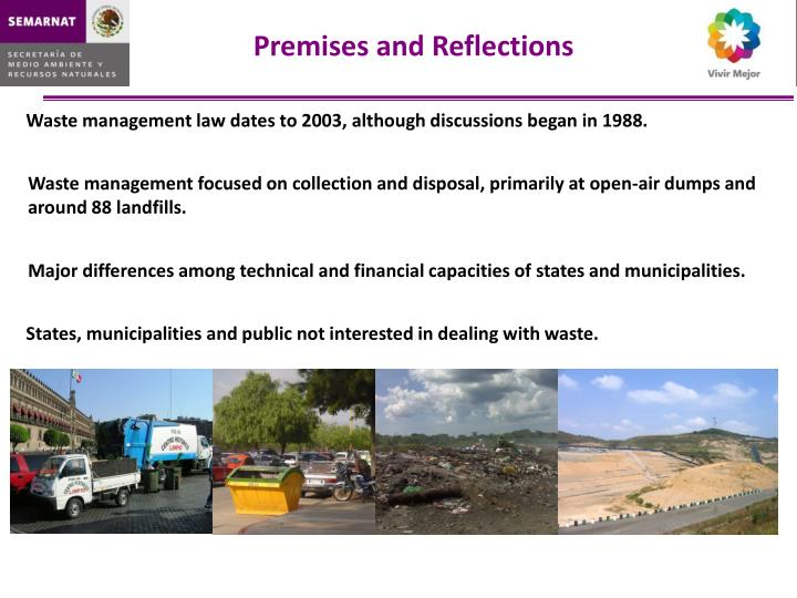 Premises and Reflections