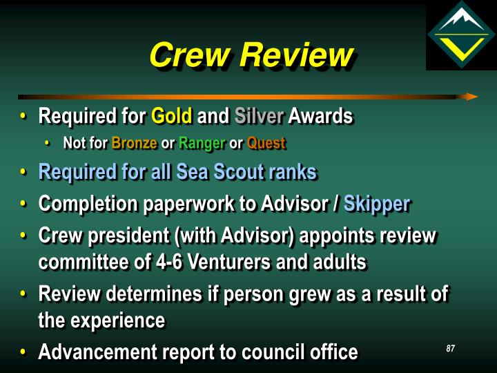 Crew Review