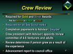 crew review