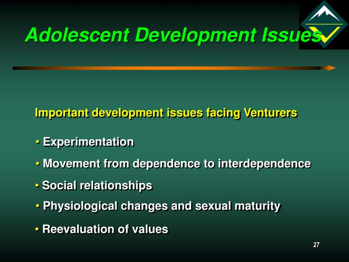 Adolescent Development Issues