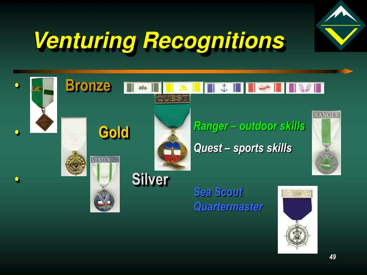 Venturing Recognitions