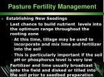 pasture fertility management32