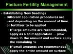 pasture fertility management33
