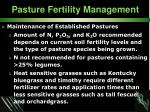 pasture fertility management34