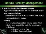 pasture fertility management36