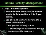 pasture fertility management37