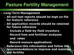 pasture fertility management38