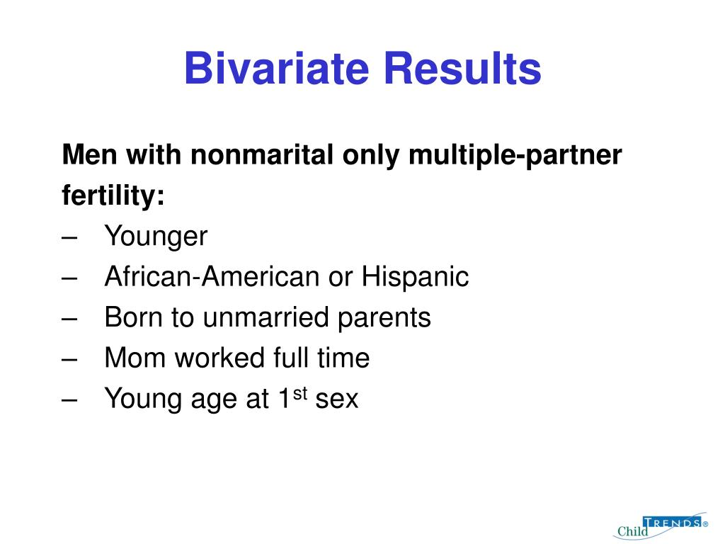 Bivariate Results