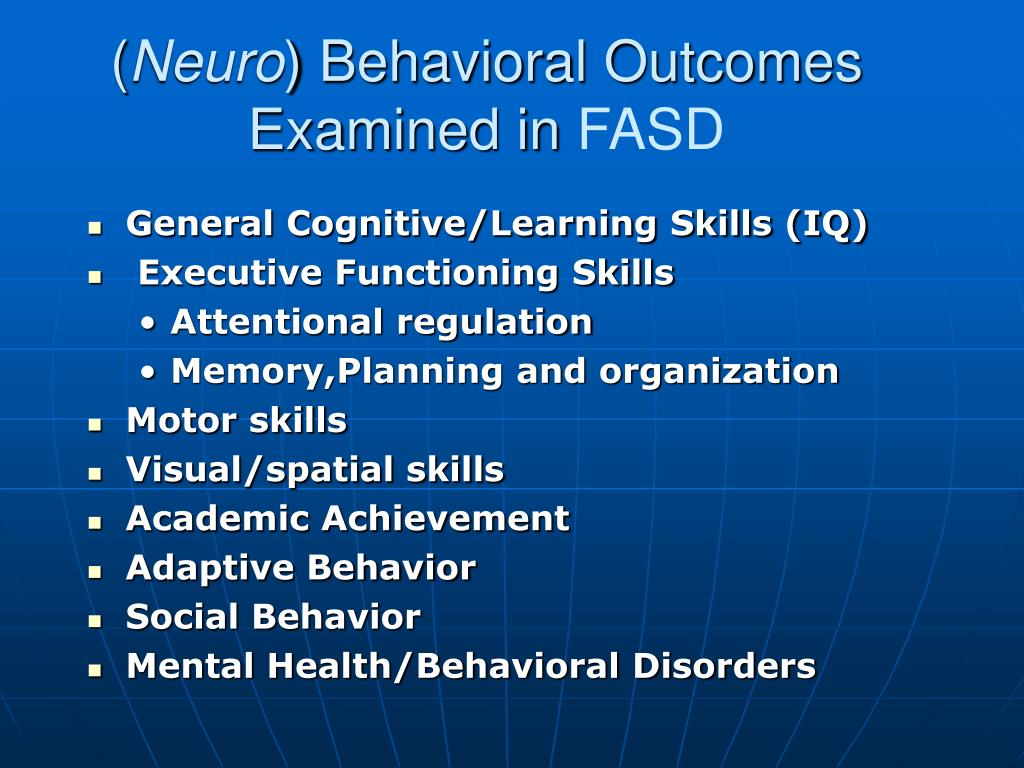 behavioral and social cognitive
