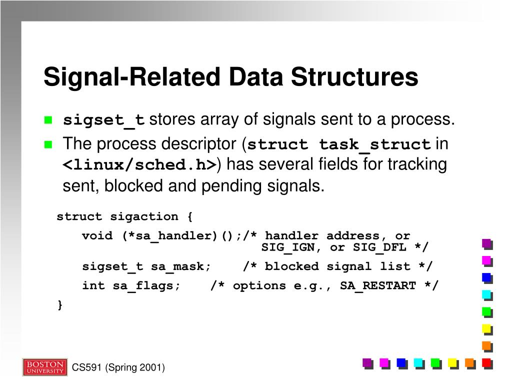 PPT - The Linux Kernel: Signals & Interrupts PowerPoint