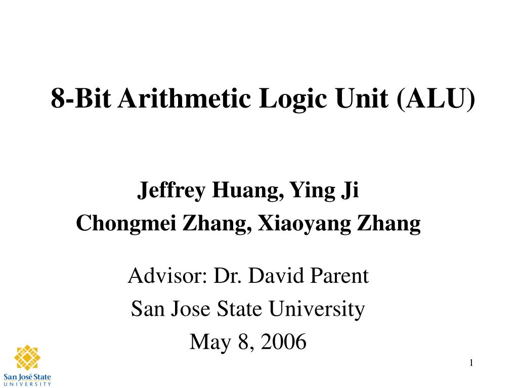 Ppt 8 Bit Arithmetic Logic Unit Alu Powerpoint Presentation Id Diagram N