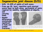degenerative joint disease djd