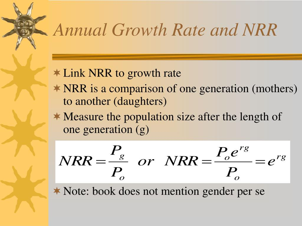 Annual Growth Rate and NRR