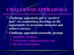 challenge appraisals