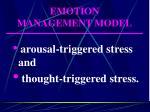 emotion management model