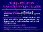 total emotion management packages30