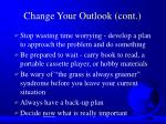change your outlook cont34