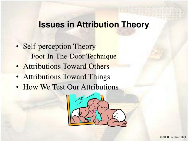 Issues in Attribution Theory