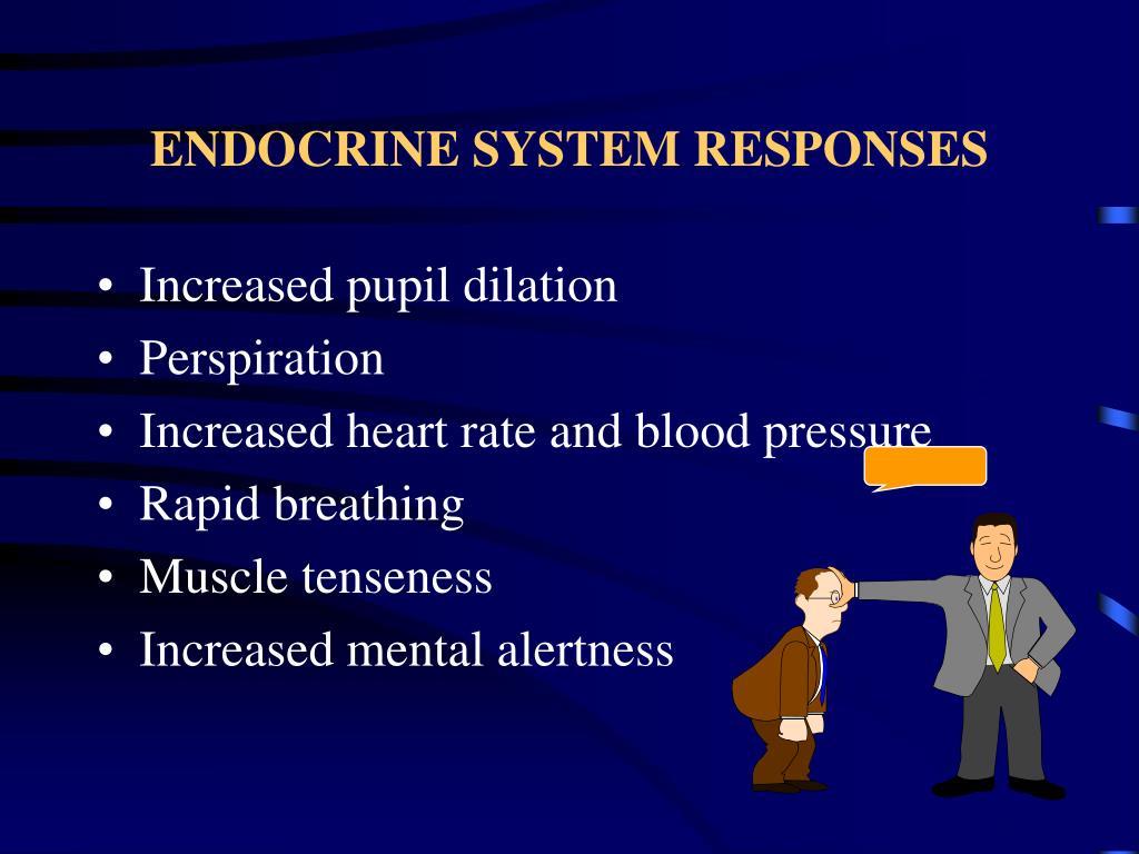ENDOCRINE SYSTEM RESPONSES